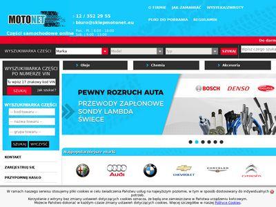Sklepmotonet.eu motoryzacyjny Kraków