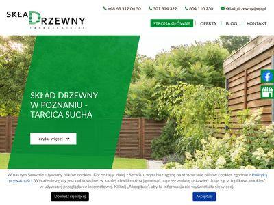 Sklad-drzewny.pl łaty Poznań
