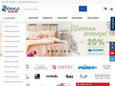Sennamaterace.pl - sklep internetowy