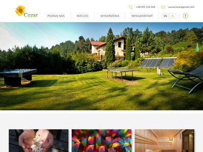 Sauna-cezar.pl kemping naturystyczny