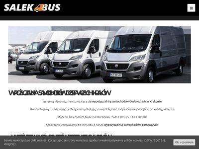 Salekbus - wynajem aut dostawczych
