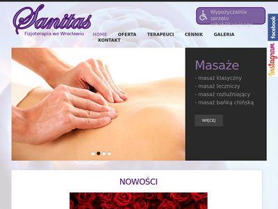 Sanitas - usługi rehabilitacyjne