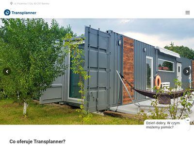 Transplanner kontenery magazynowe