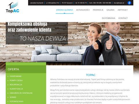 Topac piece gazowe Szczecin