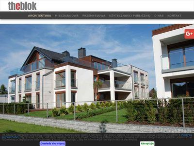 Theblok.com.pl biuro architektoniczne Kraków
