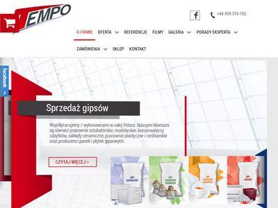 Tempo-spj.pl wylewka na podłogówkę