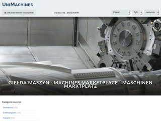 Unimachines.pl - obrabiarki do metali