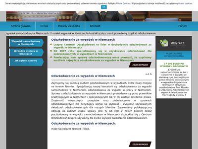 Wypadekwniemczech.pl - blog o reklamie biznesu