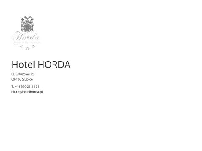 Horda hotele Słubice