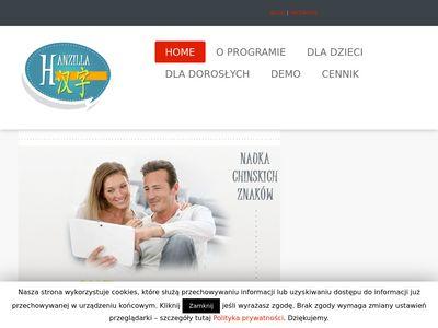 Hanzilla.pl nauka chińskiego online