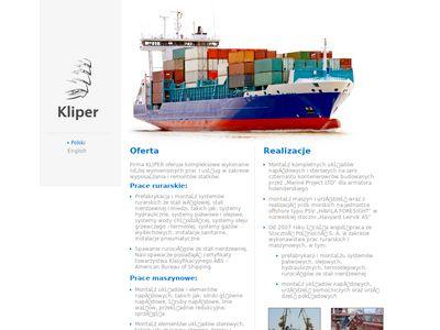Kliper - prefabrykacja