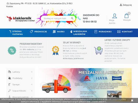 Klakiernik.pl - kleje do szyb samochodowych