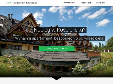 Komfortowekoscielisko.pl apartamenty Zakopane