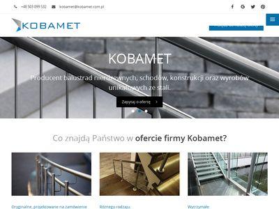 Kobamet - balustrady nierdzewne