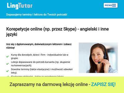 Korepetycje-online.com.pl angielski, niemiecki
