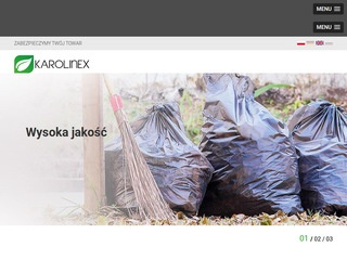 Karolinex-worki.pl - kaptury foliowe na big-bagi