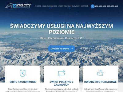 KAWECCY - Główna księgowa, Główny księgowy Będzin