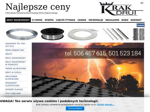 Krakdrut.pl hurtownia - instalacje odgromowe