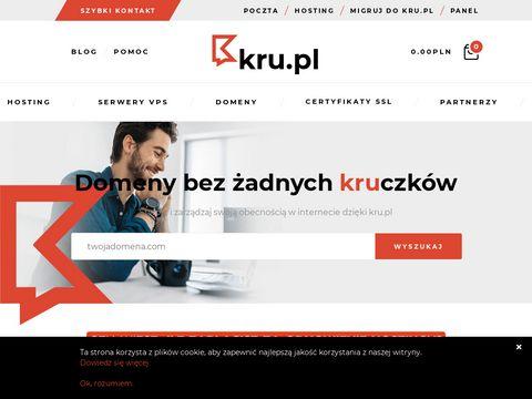 Kru.pl hosting dla firm