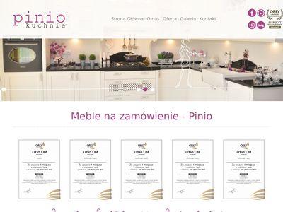 Pinio meble do kuchni na wymiar Tychy