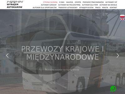 Wynajem busów Łódź