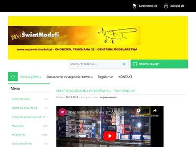 Sklep modelarski - mojswiatmodeli.pl