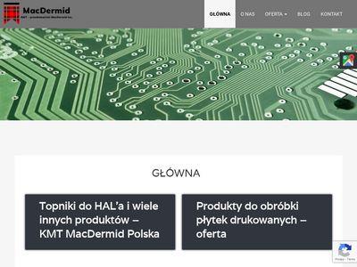 MacDermid Produkty do cynowania chemicznego