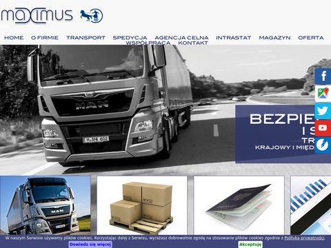 Maximus firma transportowa z Poznania