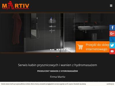 Martiv kabiny prysznicowe