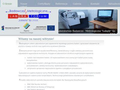 IBM Łabędy - badania nieniszczące