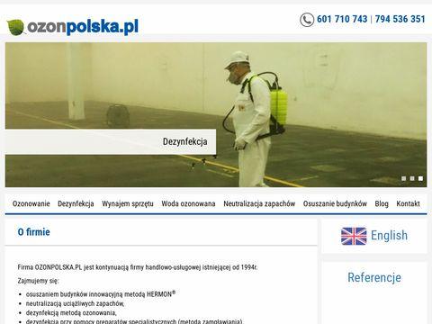 Ozonpolska.pl - neutralizator powietrza