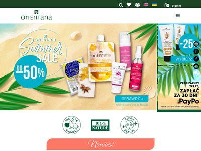 Sklep z kosmetykami naturalnymi