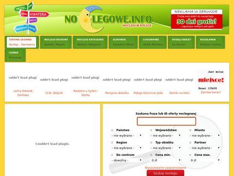 Noclegowe.info - oferty noclegowe