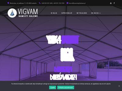 VIGVAM Producent hal namiotowych mazowieckie