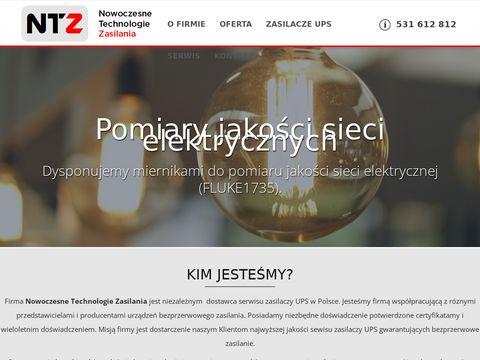 Ntz-ups.pl - serwis zasilaczy