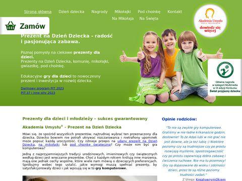 Akademiaumyslu.com.pl super prezenty dla dzieci
