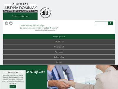 Adwokatdominiak.pl porady prawne w Gorzowie
