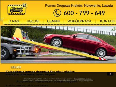 Autolaweta.krakow.pl - solution Robert Wójcik