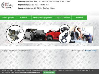 Auto Rycycling Service - skup samochodów