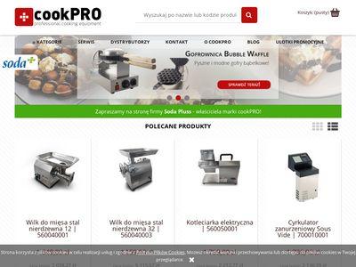 Cookpro.pl - sklep z urządzeniami dla gastronomii