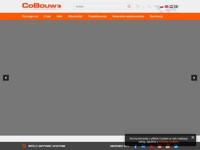 Cobouw.pl hale stalowe