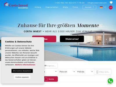 Costainvest.com - apartamenty w Hiszpanii