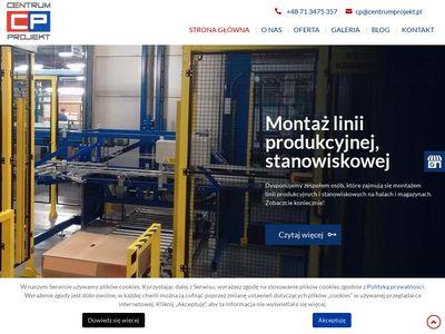 Centrum Projekt projektowanie szaf automatyki