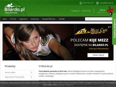 Bilardo.pl sklep bilardowy