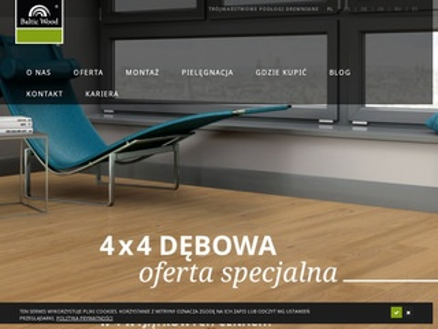 Baltic Wood podłogi drewniane