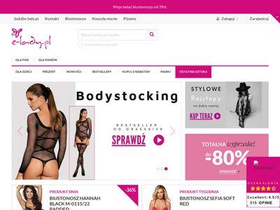 E-lady.pl sukienki, spódnice i bielizna - sklep