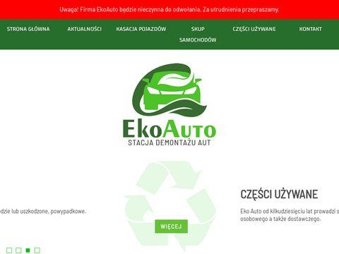 Ekoauto.biz kasacja pojazdów Gorzów