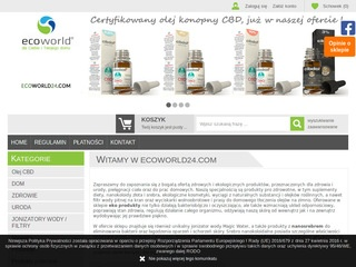 Ecoworld24.com naturalne suplementy diety