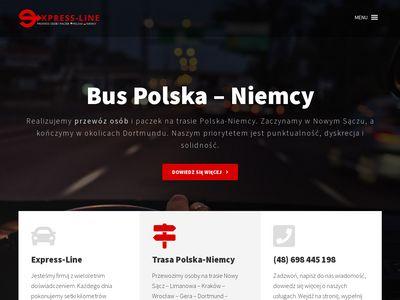 Express-Line przewóz osób z Polski do Niemiec