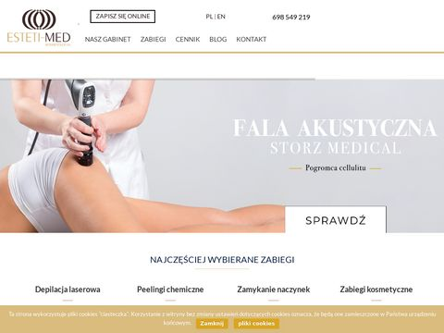 Esteti-Med kosmetologia - zabiegi kosmetyczne